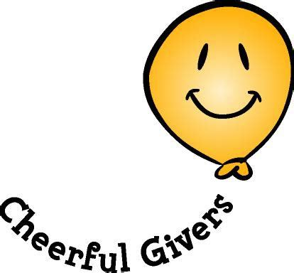 On Wings of Eagles: God loves a cheerful giver