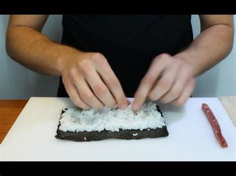 How To Roll Sushi Rolls - How To Make Sushi Rolls - YouTube