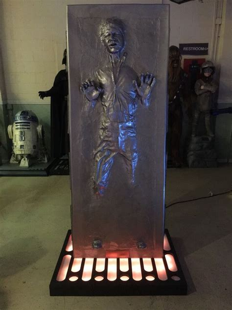 Life Size Star Wars Han Solo Frozen In Carbonite Full Size