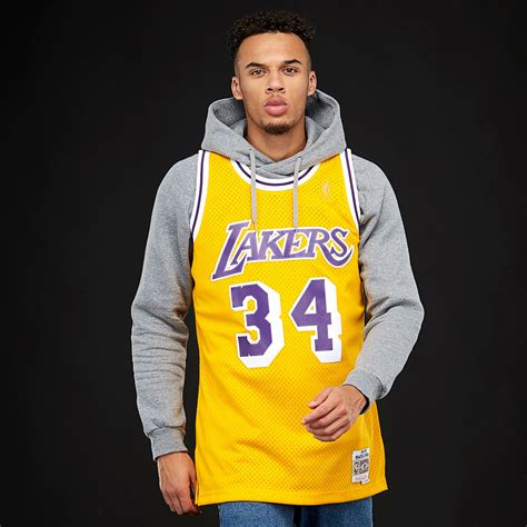 Mens Clothing - Mitchell & Ness NBA Shaquille ONeal Los