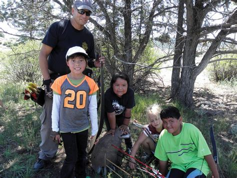 The Southern Ute Drum   Youth archers test skills