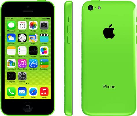 GREEN Unlocked APPLE IPHONE 5C 16GB in GOOD Condition l
