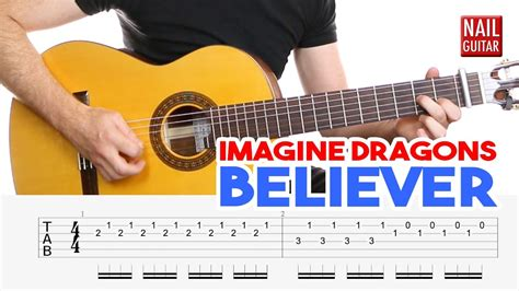 Believer ★ Imagine Dragons ★ Guitar Lesson - Easy How To
