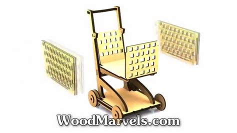 Shopping Cart: 3D Assembly Animation (720HD) - YouTube