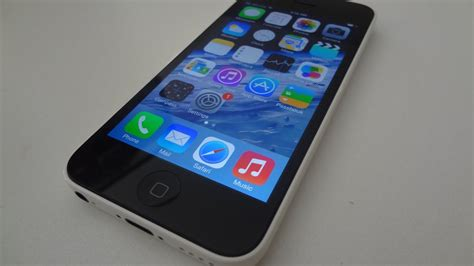 Apple iPhone 5c Review (White) - YouTube