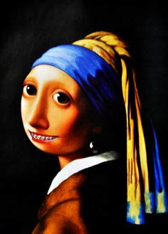 27 Best Art Parody - Girl With Pearl Earring images | Girl